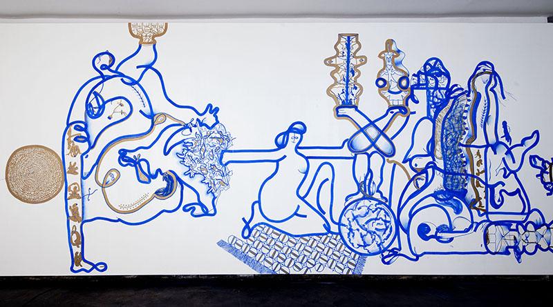 fix a pastel na zdi/2015